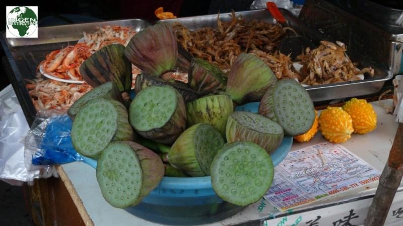 Lotus blomster er en meget normal spise i Kina