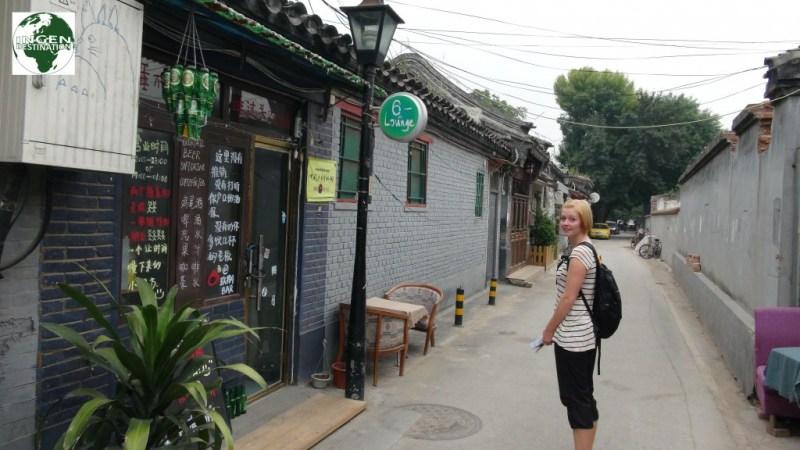 Hutong betyder på kinesisk, gyde eller smal gade.