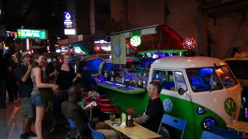 Street bar Bangkok vw