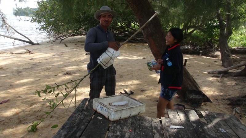 Hjemmelavede fiskestænger, Cambodia