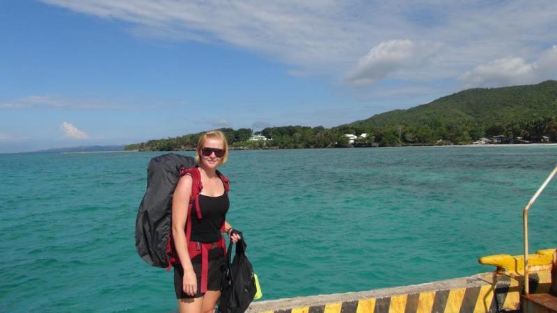 filippinerne, solskin, backpacking