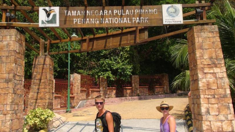 penang national park, malaysia, trekking, hiking, vandre, til fods
