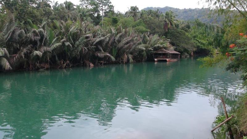 Bohol, river, flod, filippinerne