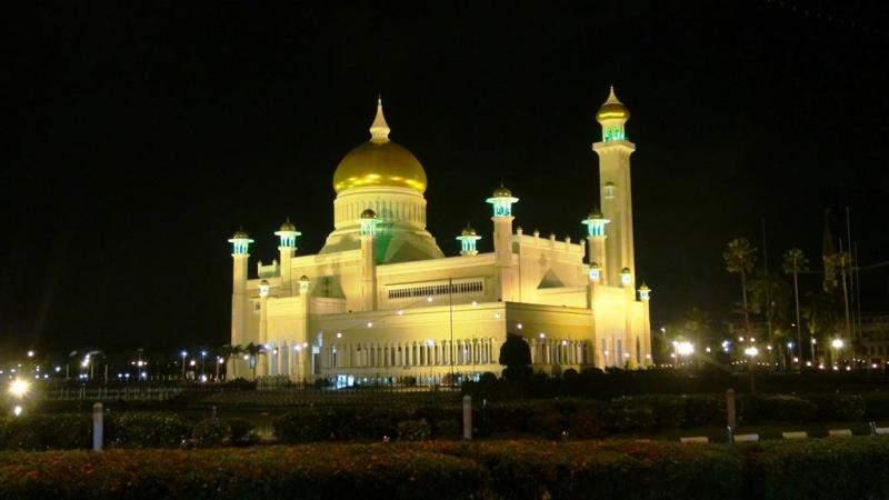 Omar Ali Saifuddien Mosque, Bandar Seri Begawan, BSB, Brunei