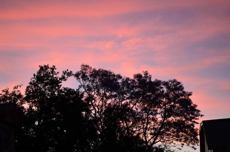 Solnedgang over Adelaide