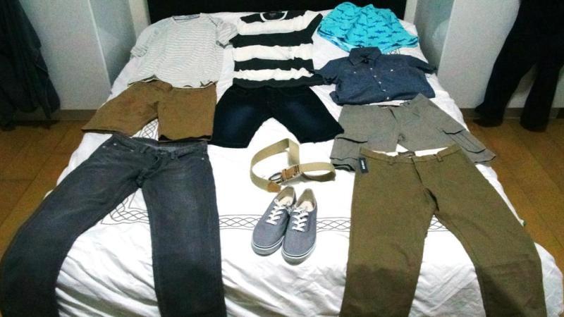 Erik's nye tøj til 994 kroner.