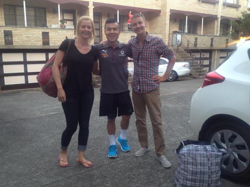 Vores flinke chauffør fra Melbourne til Sydney