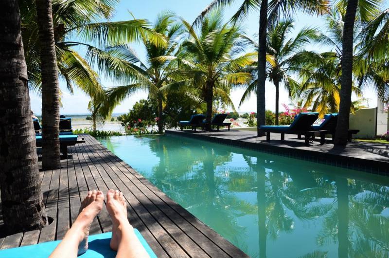 Ibo Island Lodge's pool