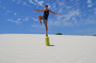 Australien, sand desert, sand ørken