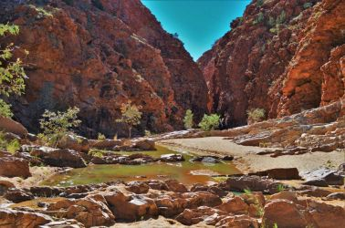 Australien, outback, mcdonld ranges, alice springs