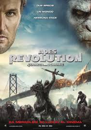 Locandina Apes Revolution