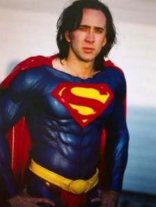 Superman Lives - Nicolas Cage