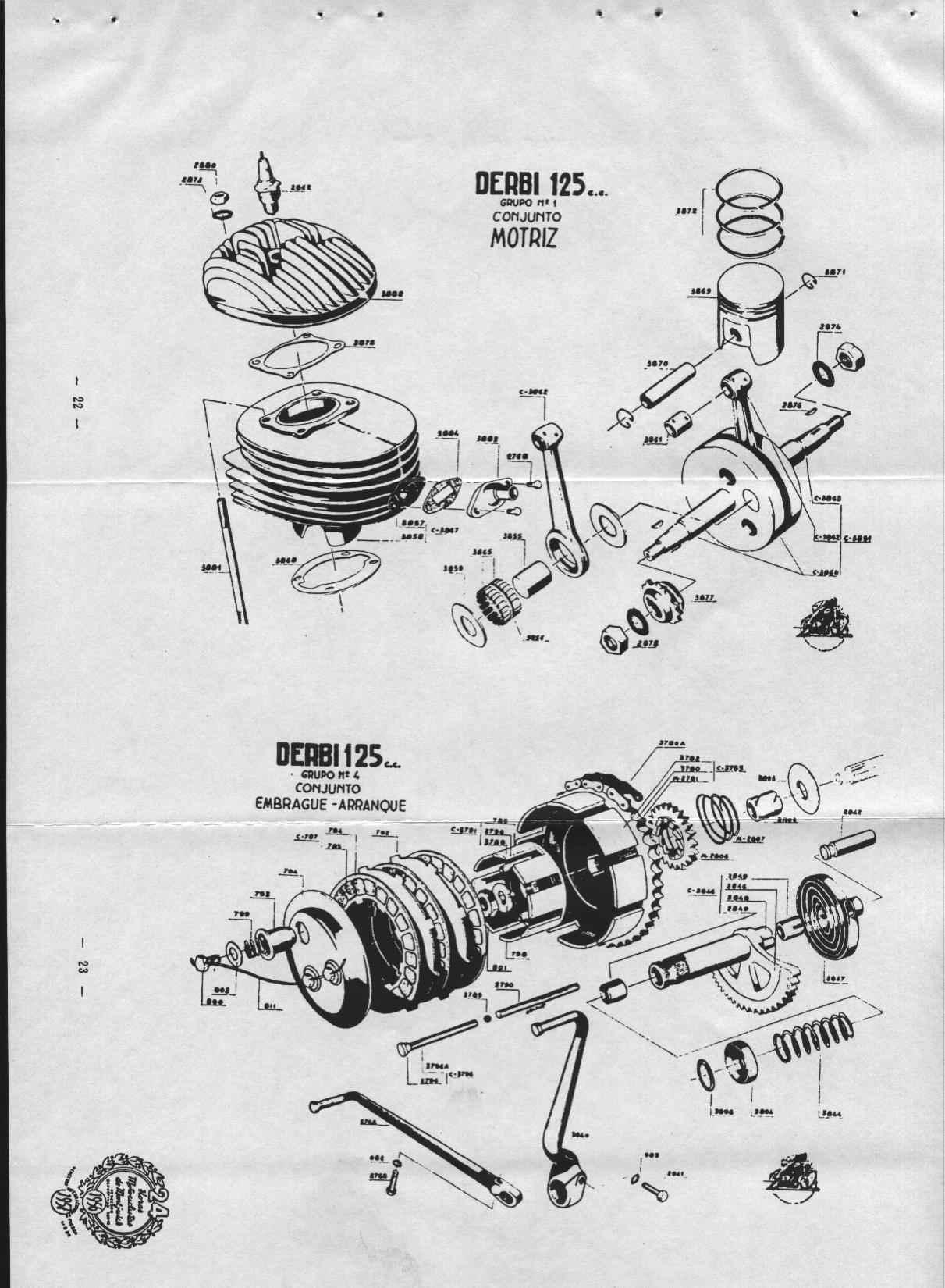 Derbi Mulhacen 125 Workshop Manual