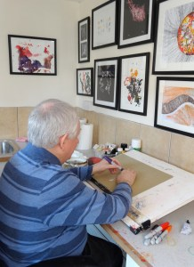 Arthur Ellis at work