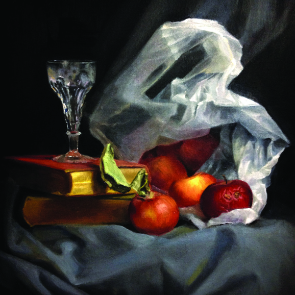 Helen Masacz, Apples & Plastic Bag