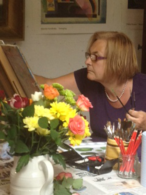 Still Life painting at Lindfield Art Studio