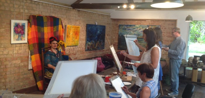 Weekend Arting – courses in Kent
