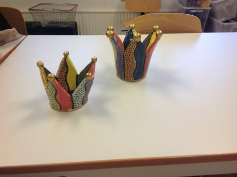 Keramik, prinsesskronor, Eva