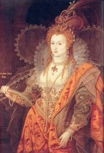 Retrato de Elizabeth Tudor