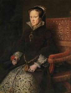 Retrato de María Tudor