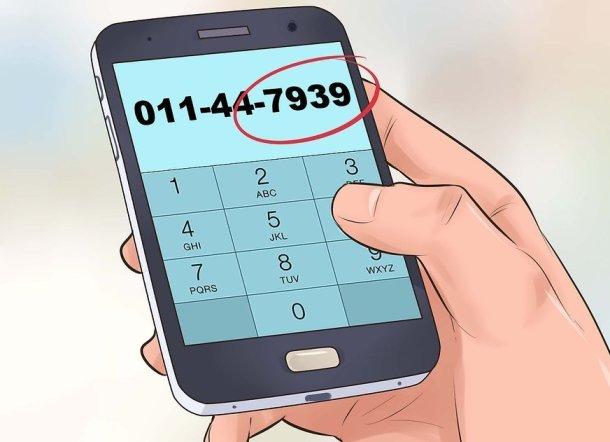 Como llamar a telefonos moviles en Inglaterra