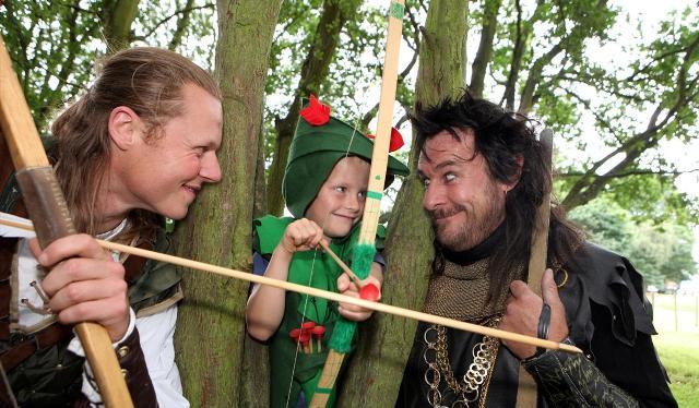 Festival de Robbin Hood Nottingham