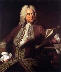 Retrato de Georg Friedrich Händel