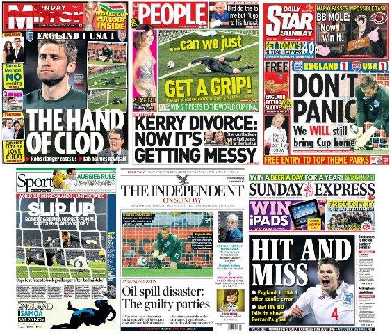 Periódicos Deportivos de Inglaterra