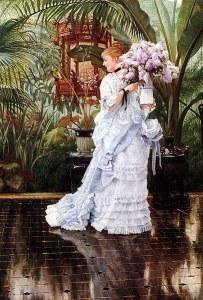 Vestido de la época Victoriana