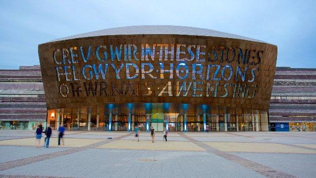 Wales Millennium Centre de Cardiff
