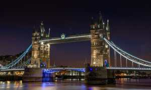 Tower Bridge Iluminado
