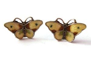 Hroar Prydz enamel butterfly earrings. Sold in my Etsy shop. Sorry ladies!