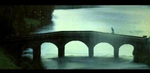 The bridge at the lake at Storuhead, satrring in