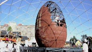 A big egg.