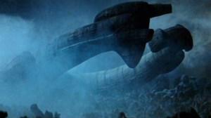 The alien ship from Alien.
