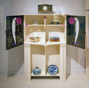 Cabinet designed by Charles Rennie Mackintosh, in the collections of the Royal Ontario Museum, Canada. Photo by Tony Hisgett.