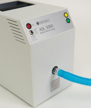 The ASL 5000 is your artificial respiratory patient.