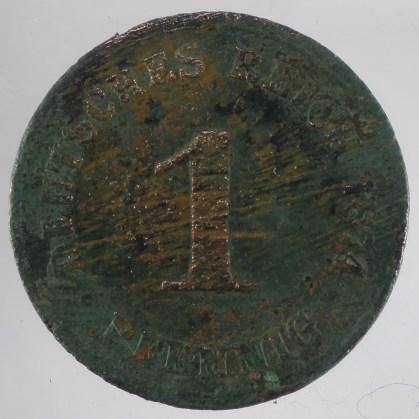 1874 - 1 Pfennig 1