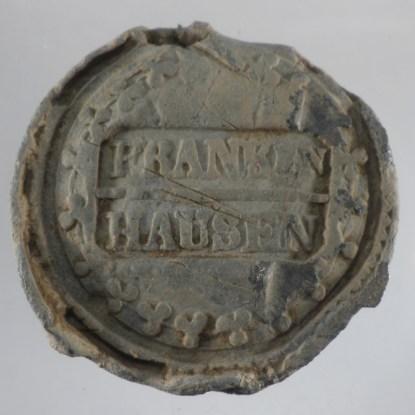 Bleiplombe Frankenhausen 1
