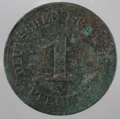 1875 - 1 Pfennig B 1