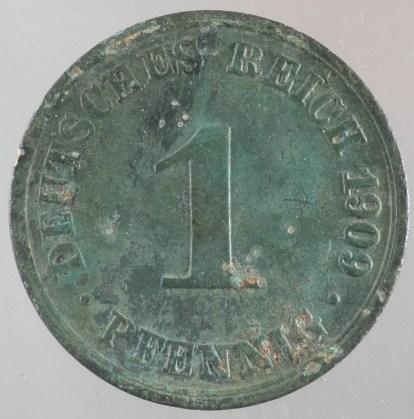 1909 - 1 Pfennig A 1