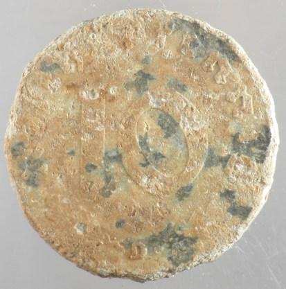 1940 - 10 Pfennig D