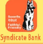 Syndicate Bank Recruitment 2018 Information system Auditor 03 posts