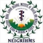 NEIGRIHMS Recruitment 2020 Junior Research Fellow 01 Post