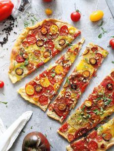 pizza vegetariana en inGracia