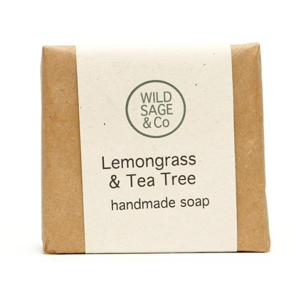Wild Sage & Co Lemongrass & Tea Tree Soap