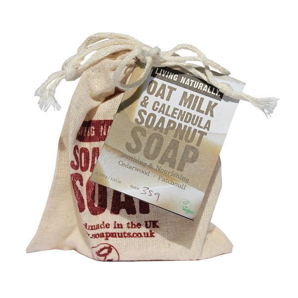 Living Naturally Oat Milk Soapnut Soap