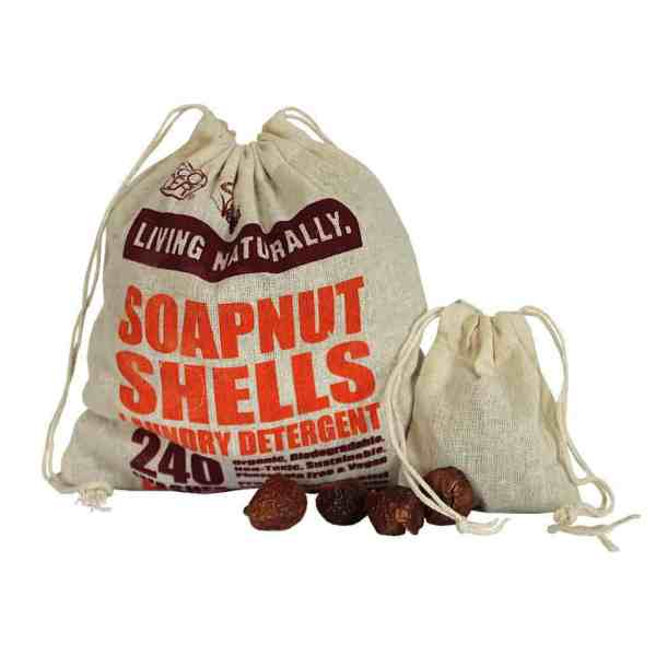Living Naturally Soap Nuts Bag