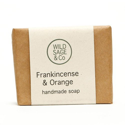 Wild Sage & Co Frankincense & Orange Soap