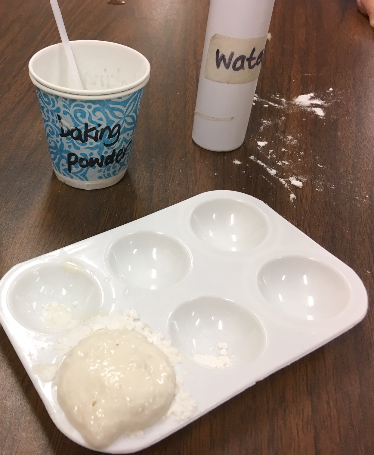 Baking Powder Chemistry